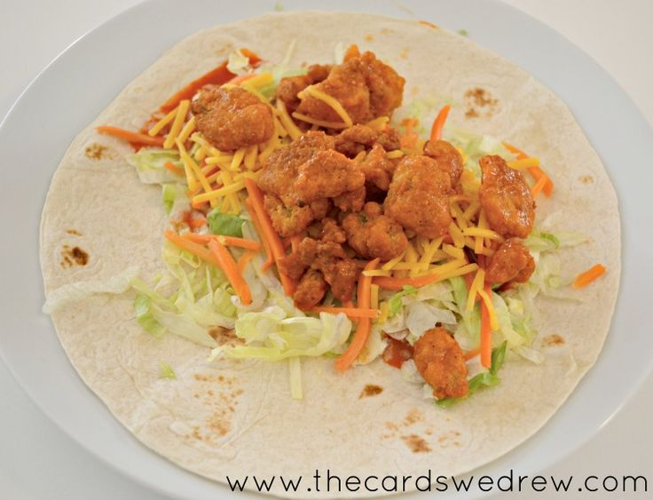 ad Family Movie Night Buffalo Chicken Wraps - The Cards We Drew