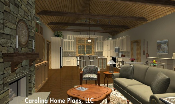 Pin By Carolina Home Plans Llc On Open Floor Plans
