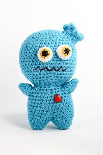 Amigurumi Monsters : amigurumi monster, so cute! Textile Gifts for Kids ...