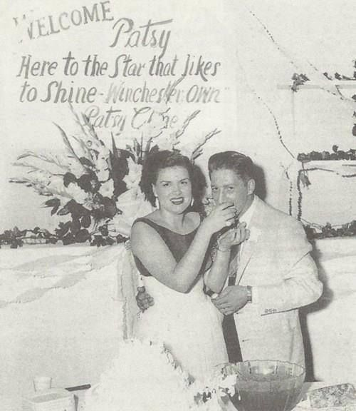 Patsy Cline and Husband Charlie Dick -