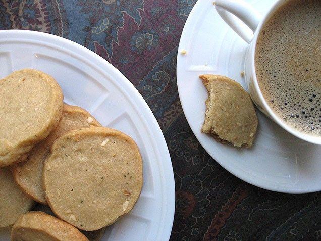 Rosemary Hazelnut Brown Sugar Shortbread | Recipe