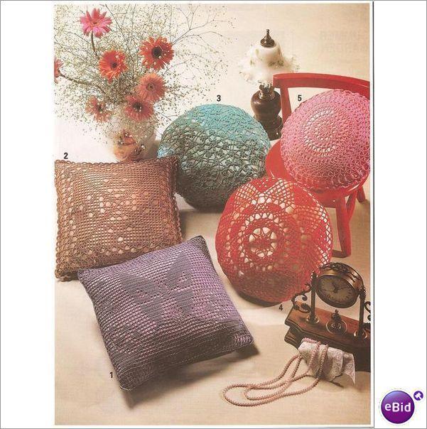 Crochet Patterns Nz : Crochet Pillow Pattern Scatter Pillows on eBid New Zealand