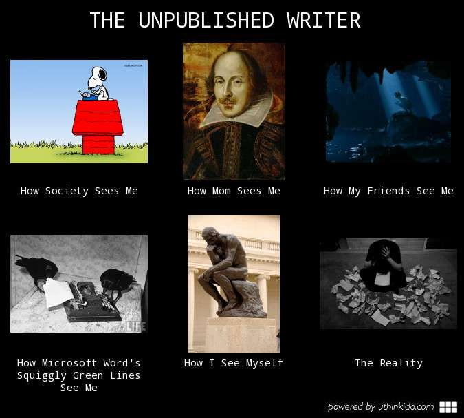 The unpublished writer