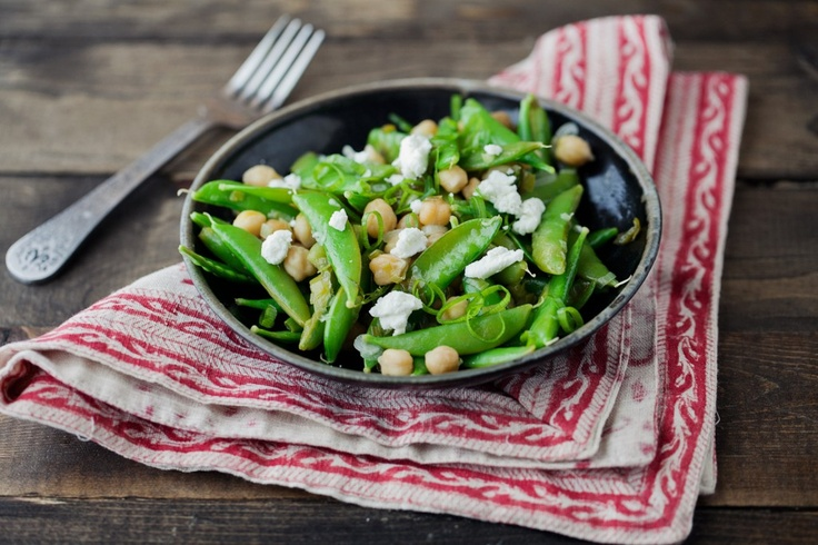 Lemon-Dill Snap Peas and Chickpeas. Wondering what do to with your ...