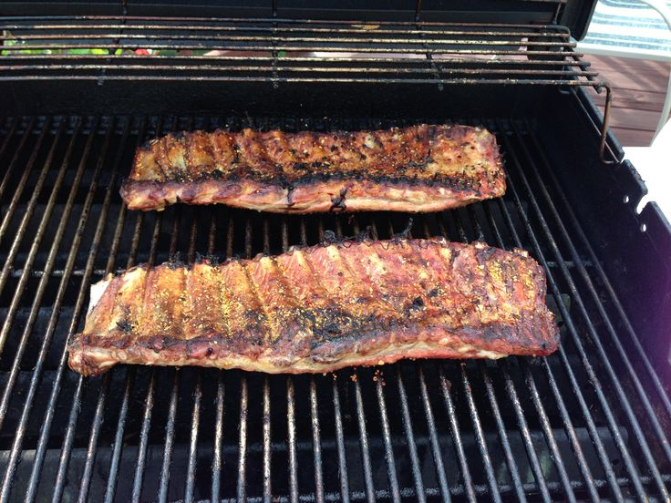 ... time. I always share the ribs with a couple of neighbors and when the