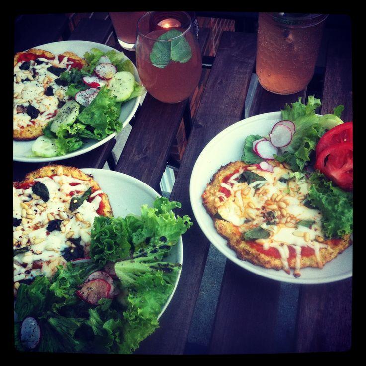 Easy Cauliflower Pizza Crusts (Gluten-Free & Dairy Free)