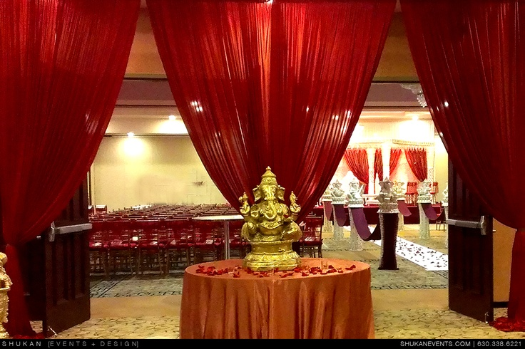 Foyer Decor For Wedding : Hindu wedding foyer setup indian decor pinterest