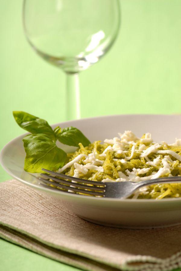 ... Pasta Alternative: Spaghetti Squash with Homemade Pesto - 12 Tomatoes