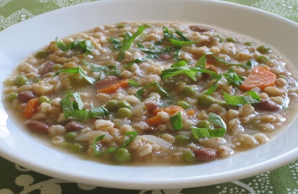 Mixed Vegetable and Farro Soup | > Soups, Chili, & Stews | Pinterest