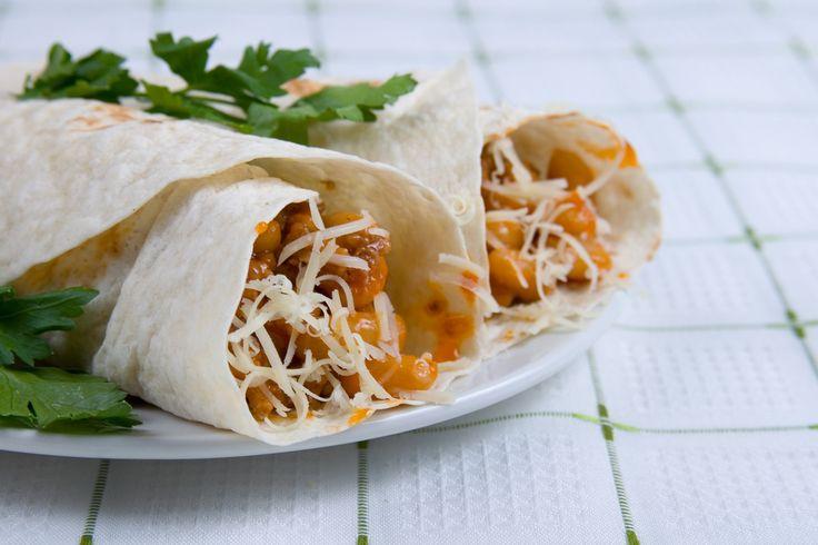 Addictive Sweet Potato Burritos Use whole wheat tortillas and reduced ...