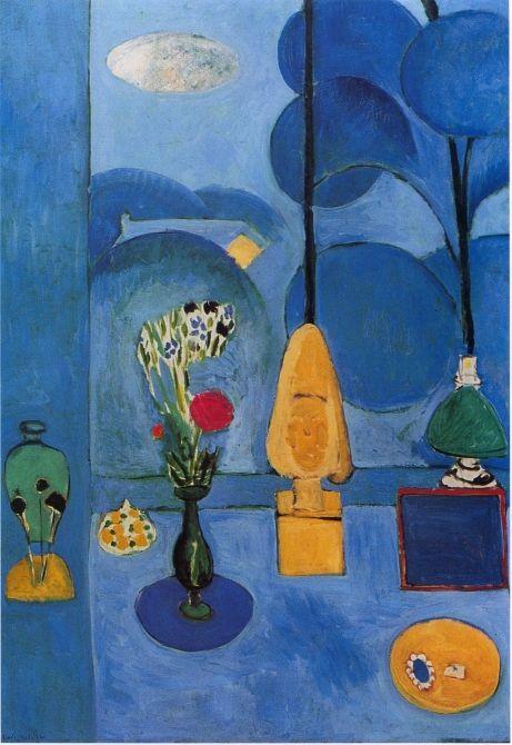 Matisse la fen tre bleue 1912 ogle1 pinterest for Henri matisse fenetre