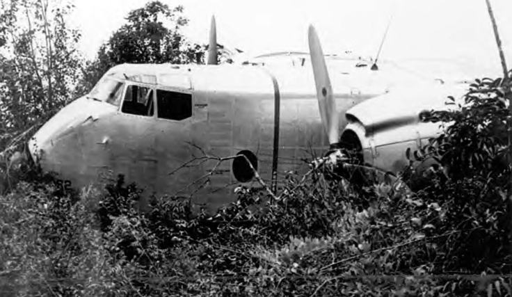 Air America crash site in Laos