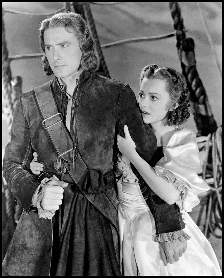 Errol Flynn and Olivia de Havilland   Hollywood and ... Errol Flynn Olivia De Havilland