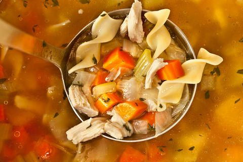 Easy Chicken Noodle Soup from a Leftover Roasted Chicken | Recipe
