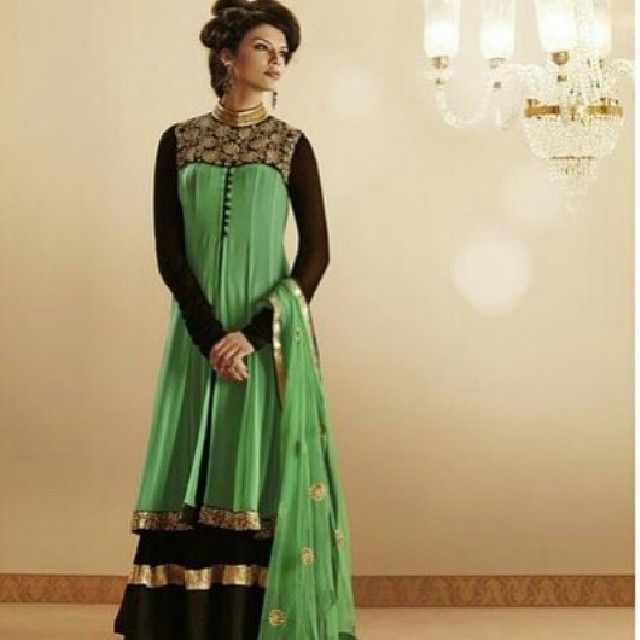 Pin by stylish bazaar on indian dresses for fashionable for Floor length kurti