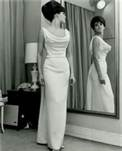 Pin raquel welch in surf 1980s white swimsuit fantasy for Raquel welch wedding dress