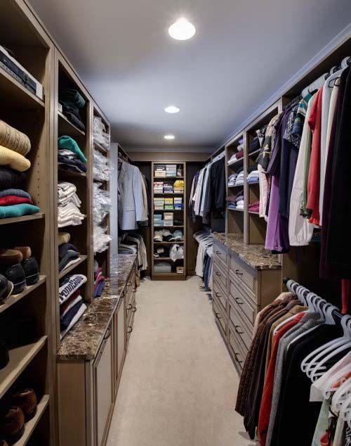 Narrow Closet Like Ours Closet Ideas Pinterest
