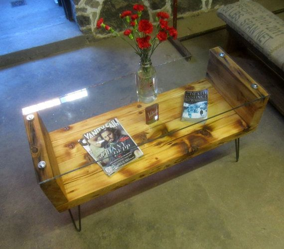 Love this coffee table by Recycled Brooklyn