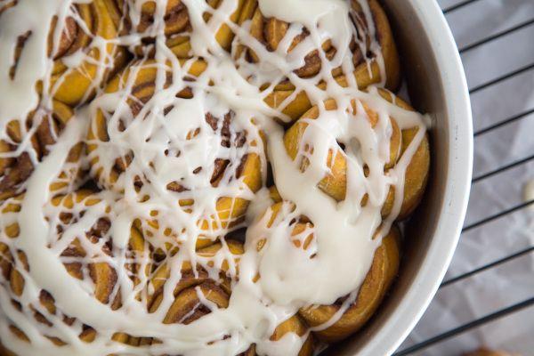 From the kitchen: Pumpkin Cinnamon Rolls | Breakfast | Pinterest