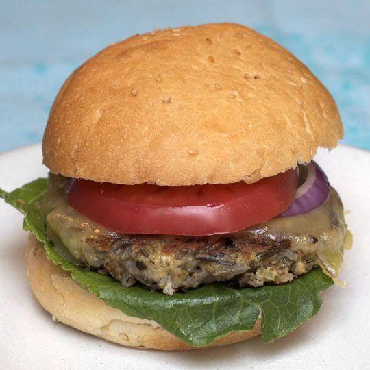 Wild Rice burger via The Kitchn
