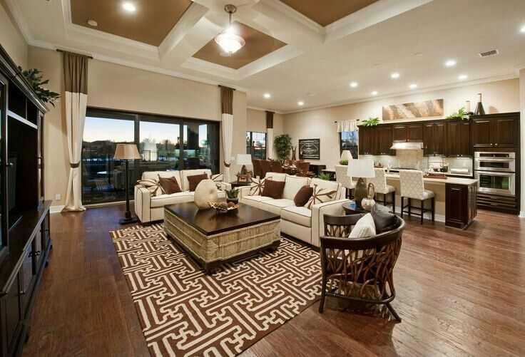 Open Concept Kitchen And Living Room Best Decorating Inspiration