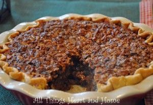 Caramel Pecan Pie~Gluten Free Easily!