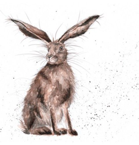 hannah dale   hare animal art print things to make and do pintere