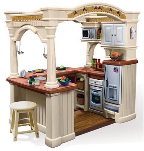 Play kitchen for kids pinterest for Kids kitchen set