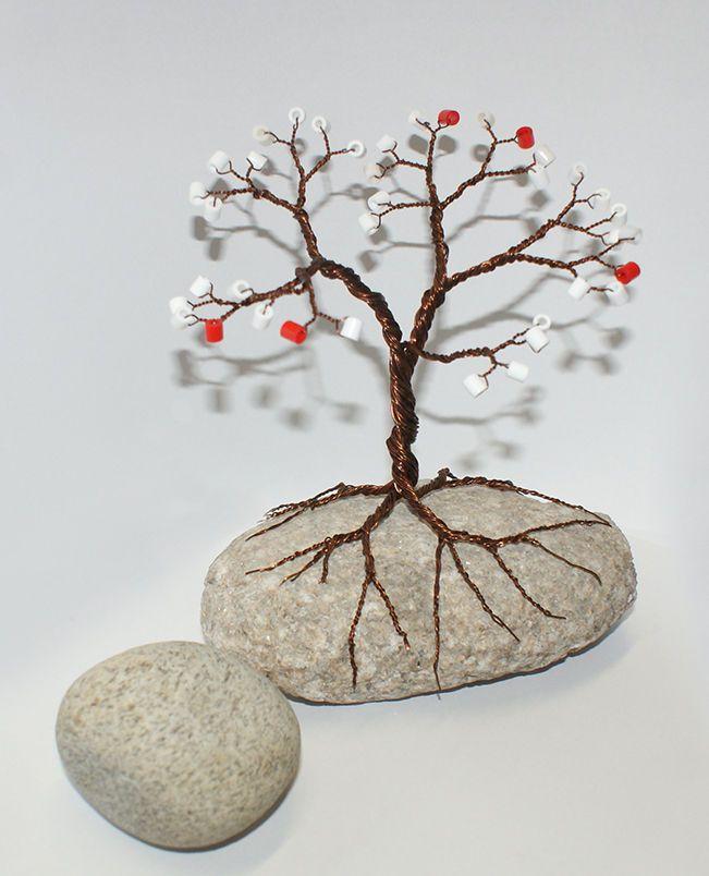 Дерево из проводов своими руками 56