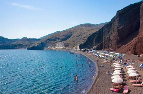 Santorini Red Beach Tour