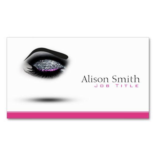 Makeup artist business card for Business cards for makeup artist