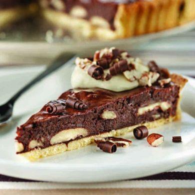 Chocolate-Pecan Tart Recipe — Dishmaps