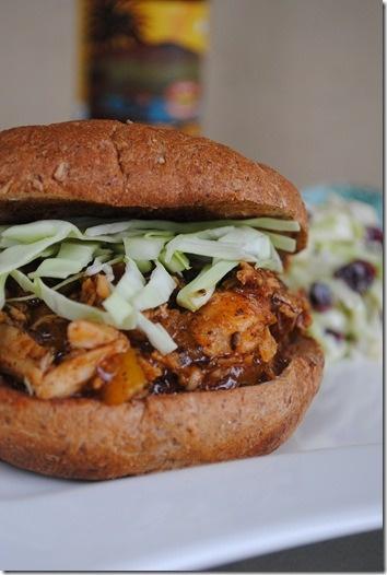 Whiskey Mango BBQ Chicken Sandwich 061 | Recipes | Pinterest