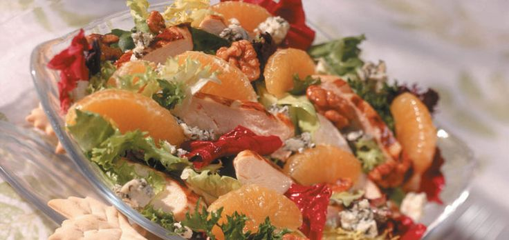 Tangy Tangelo Chicken Salad