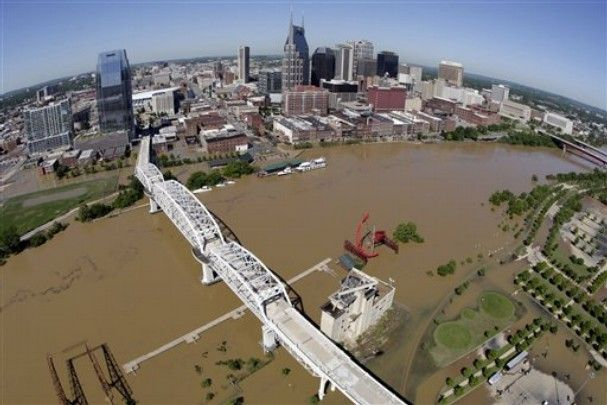 Nashville Flood 2010 Map  Google Search  Nashville