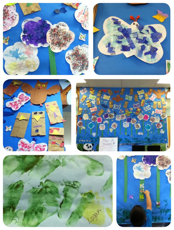 Pin by becky huff on butterflies pinterest for Eric carle mural