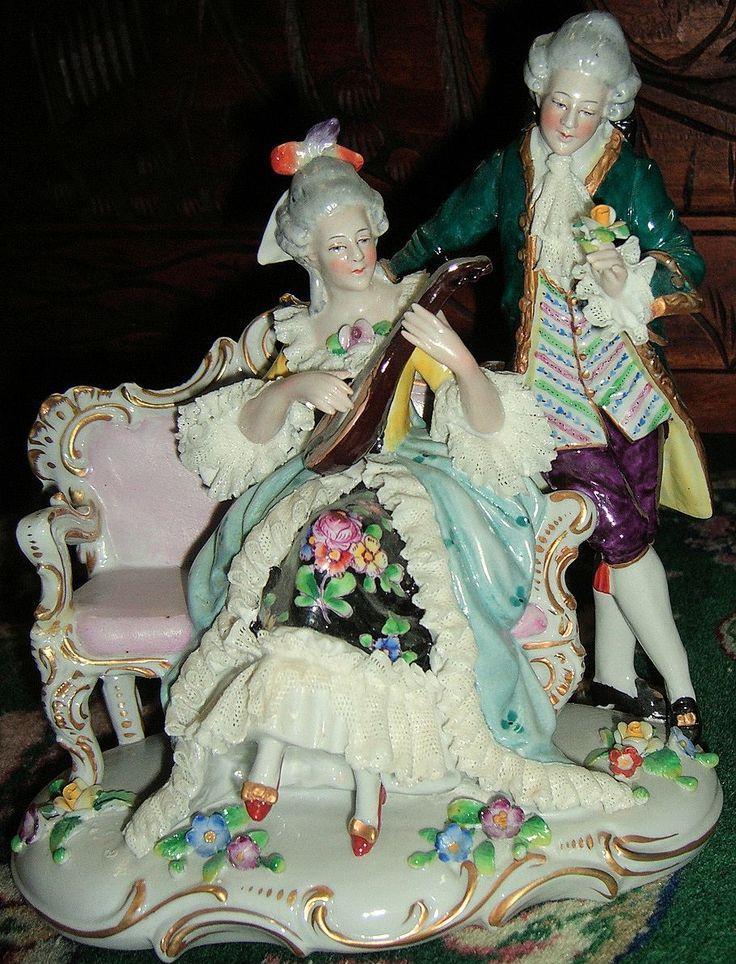 Sitzendorf porcelain