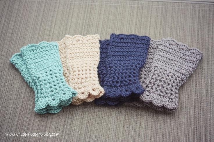 Crochet Fingerless Gloves : Crochet Fingerless Gloves.