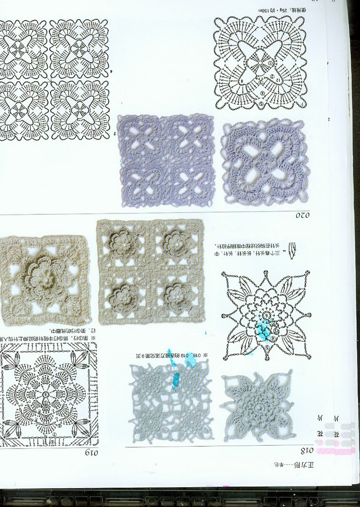 Crochet Patterns Diagrams : crochet diagram knitting and crocher patterns Pinterest