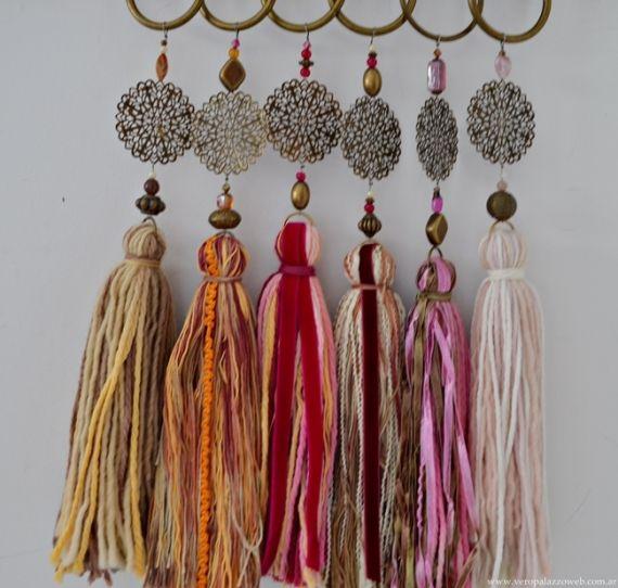 Borlas de lana adornos casa 394455 borlas pinterest - Adornos de casa ...