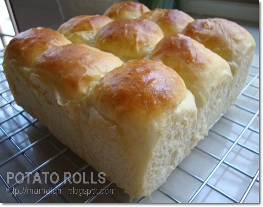 POTATO ROLLS | bread | Pinterest