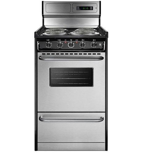 electric range for tiny house