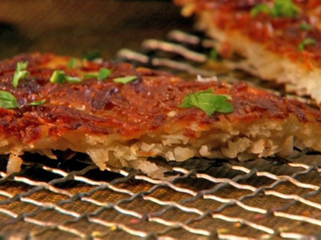 Crispy Potato Cake from FoodNetwork.com - Just made this. Will ...