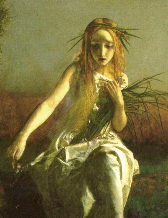 paintingsOphelia Painting Arthur Hughes