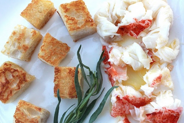 INSIDE-OUT LOBSTER ROLL   Seafood and Fish   Pinterest