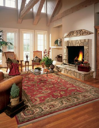 Gallery Cozy Living Room The Warm Tones And Traditional Designs