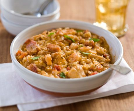 Eula Mae's Chicken and Ham Jambalaya~Mardi Gras Recipes from ...