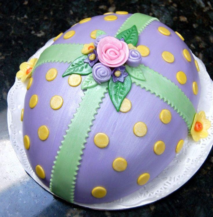 Easter Egg Cake.   Cakes   Pinterest