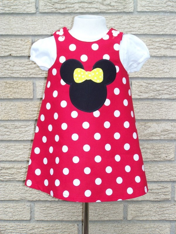 Red minnie mouse birthday dress mary elizabeth s bday party pinte