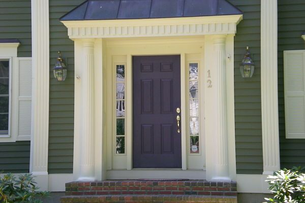 SW quixotic plum for the front door